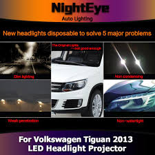 tiguan volkswagen lights nighteye vw tiguan headlights 2013 new tiguan led headlight led