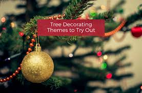 tree decorating themes to try out your home
