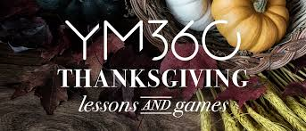 free thanksgiving lessons and ym360