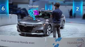future honda hondalens augmented reality the future of the dealership experience