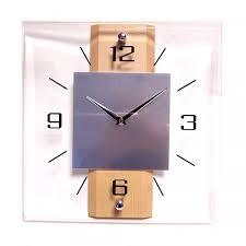 Horloge Murale Rouge by