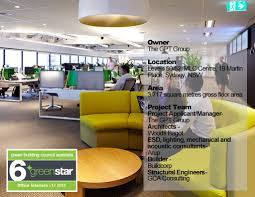 Study Interior Design Sydney The Gpt Group Head Office Fitout Green Building Case Studies