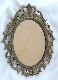beautiful antique mirror mirror mirror oval