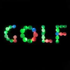 light up golf balls new arrival led golf balls flashing light up blink color night