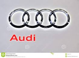 audi logo vector audi logo editorial photo image 16281411