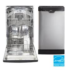 Danby 18 Inch Portable Dishwasher Danby 18 In Built In Dishwasher Stainless Canadian