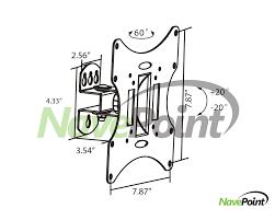 samsung 32 led tv wall mount wall mount samsung 32 inch tv bracket tilt u0026 swivel for un32h5203