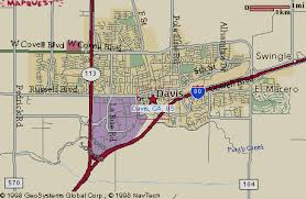 davis map directions page
