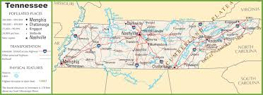 Map Of Tennessee River by Tennessee Highway Map