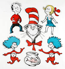 cat in the hat seussical characters on horton hatches the egg