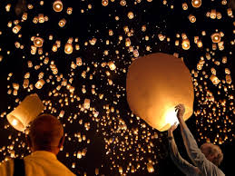 G Stige U K Hen Sky Lanterns Khom Loy Floating Lantern Coolstuff Com
