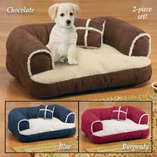 Dog Bed Furniture Sofa by Comfy Pet Bed Couch With Pillow From Collections Etc