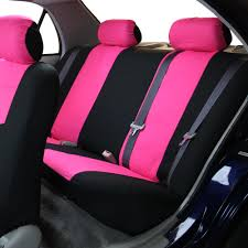 pink car interior car seat covers for rear seat luxury sporty for car suv minivan ebay