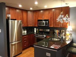 Kitchen Ideas With Cherry Cabinets by A Condo In The Rutherford Building Standard Design Of Cherry
