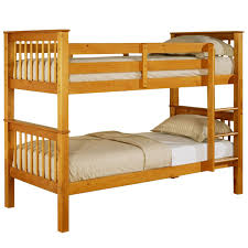 Devon Pine Bunk Bed Next Day Select Day Delivery - Pine bunk bed