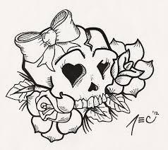 skulltattoos girly skull tattoos girly skull