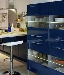 cuisine bleu citron tonnant facade cuisine bleu d coration cour arri re est comme