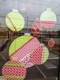 Christmas Ball Window Decorations best 25 christmas window decorations ideas on pinterest diy