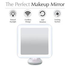 Cordless Lighted Makeup Mirror Best 25 Lighted Magnifying Makeup Mirror Ideas On Pinterest