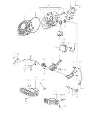 fs genuine porsche 911 993 headlamp ballast control unit