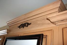 kitchen cabinets molding ideas crown uneven ceiling above
