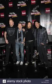 Kirk Hammett James Hetfield Lars Ulrich Kirk Hammett And Robert Trujillo Of
