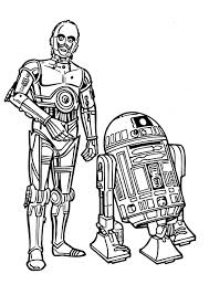 lego r2d2 and c3po coloring page within c3po coloring pages eson me