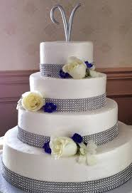 wedding cakes with bling wedding cakes with fresh flowers archives the clubhouse at