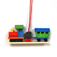 christmas tree ornaments from germany at the wooden wagon