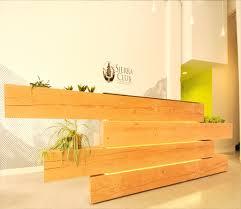 Reclaimed Wood Reception Desk Stunning Sierra Club Headquarters Reclaimed Wood Beams