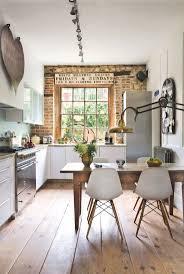 Brick Kitchen Ideas The 25 Best Exposed Brick Kitchen Ideas On Pinterest Brick Wall
