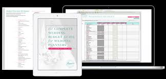 Wedding Budget Spreadsheet Excel complete wedding budget guide for wedding planners