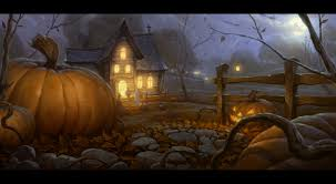 background for halloween village halloween 2012 by unidcolor on deviantart