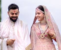 marriage dress what went into anushka sharma virat kohli s exquisite wedding
