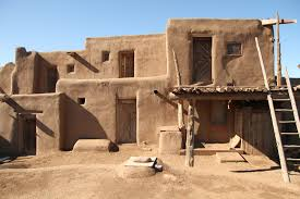 Adobe House Plans Native American Adobe House Taos Pueblo More House Plans 66775