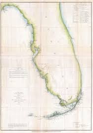 Casey Key Florida Map by File 1852 U S Coast Survey Map Of Florida Geographicus