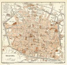 map of bologna historical map prints of bologna in italy for sale and