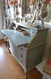 antique drop front desk vintage french drop front desk