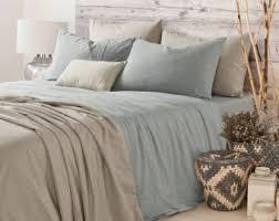 Duck Egg Blue Duvet Sets Medium Grey Linen Duvet Cover Linen Duvet Cover Grey Linen
