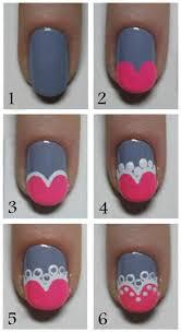 246 best nail tutorials images on pinterest make up nail art