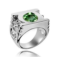 green lantern wedding ring green lantern stainless steel power ring pluto99