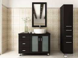 40 Bathroom Vanities Jwh Living Lune Single Sink 40 Modern Bathroom Vanity Set Jwh Lune 39