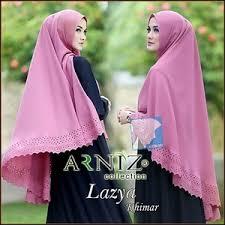 model jilbab jual model jilbab terbaru arniz jilbab syari khimar lazya