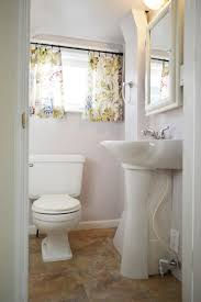 Diy Bathroom Curtains It U0027s Done Our 170 Bathroom Makeover For Granny Young House Love