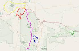 badlands national park map biking south dakota