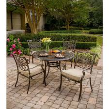 The Home Depot Patio Furniture - extruded aluminum patio dining sets patio dining furniture