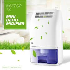 humidité cuisine invitop t8 électrique mini maison déshumidificateur sécheur d air