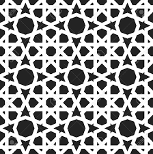 Morrocan Design Moroccan Pattern Eastern Traditional Style Oriental Endless