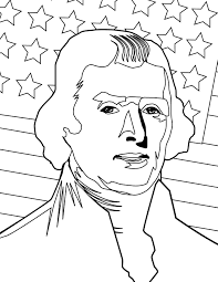 thomas jefferson coloring page handipoints