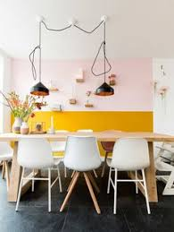 chic half painted walls that you will have to see details
